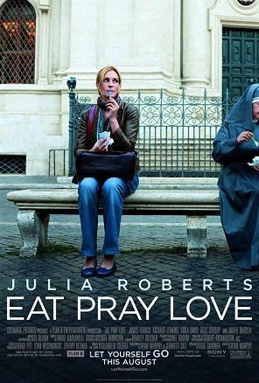 Eat pray love  享受吧!一个人的旅行