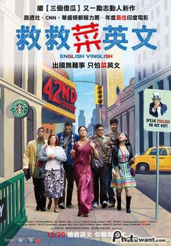 English vinglish  救救菜英文