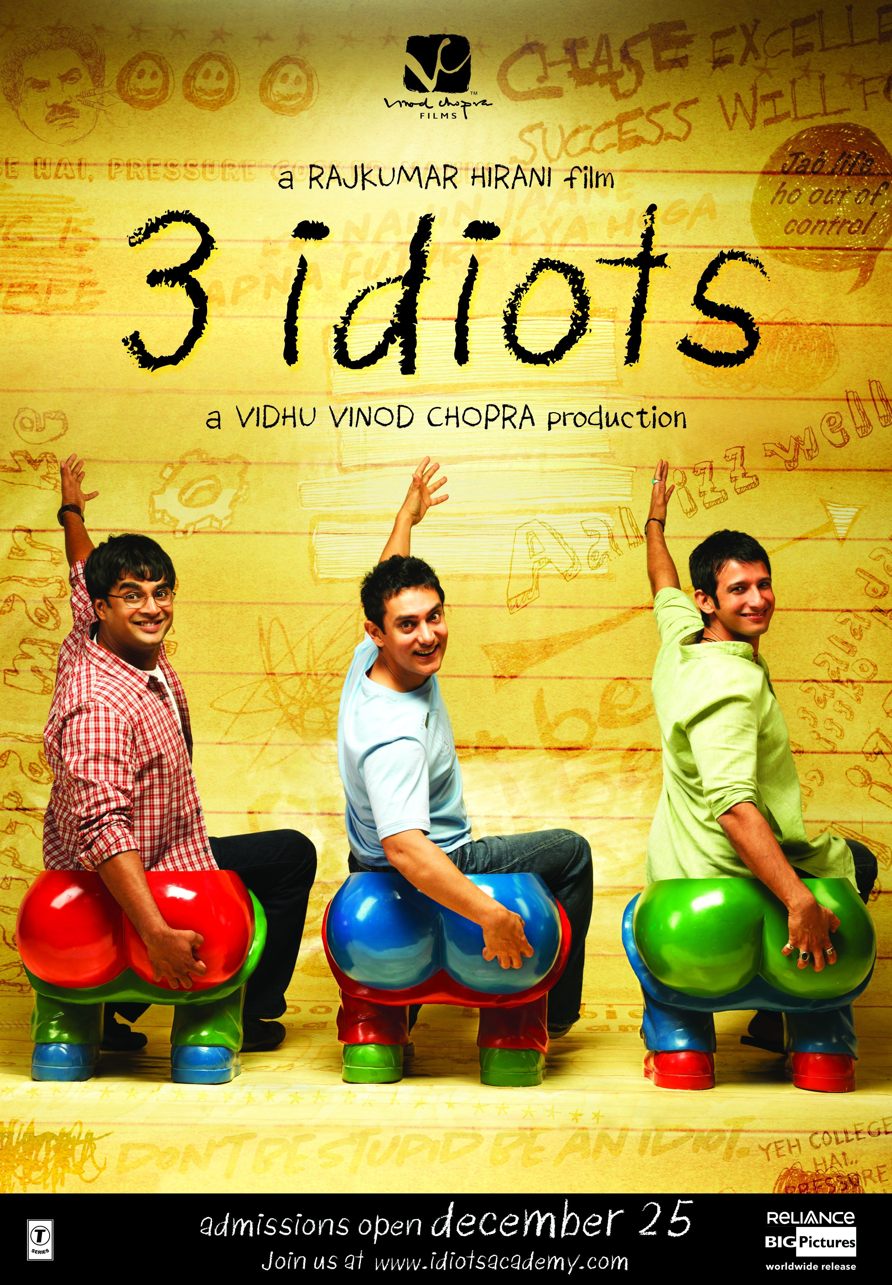 3 idiots  三个傻瓜