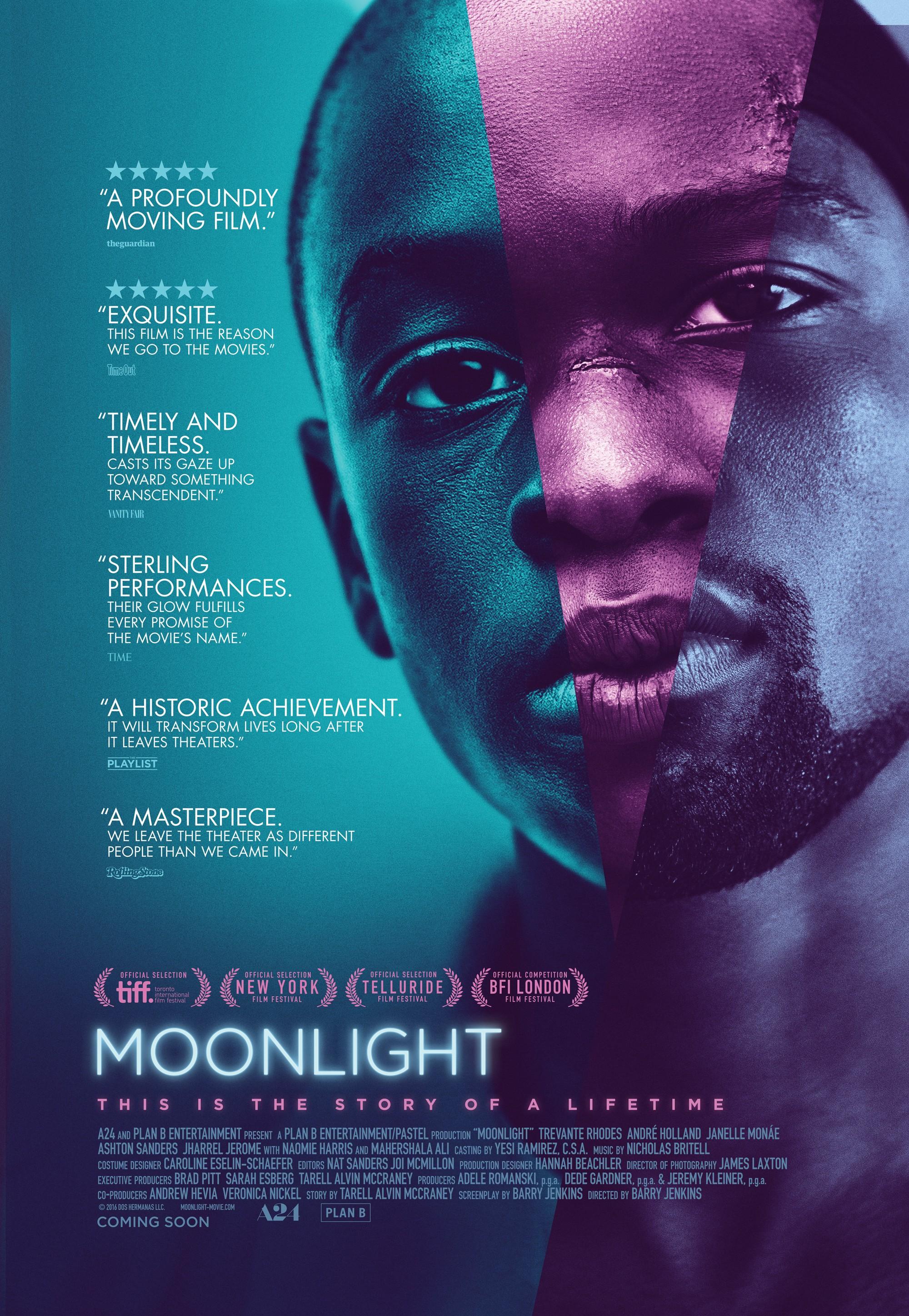 Moonlight  月光下的蓝色男孩